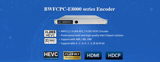 HD/SD de Modulatorh.264/265 Video/Audio die van de codeur Hoge Definitie bwfcpc-8000 coderen